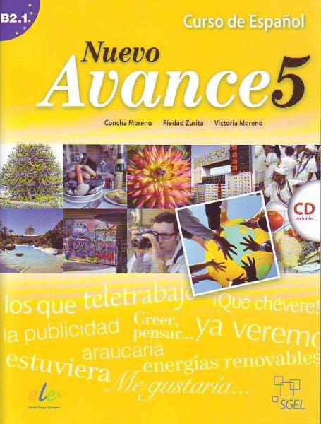 画像1: NUEVO AVANCE 5 (B2.1). LIBRO DEL ALUMNO + CD(生徒用テキスト) (1)