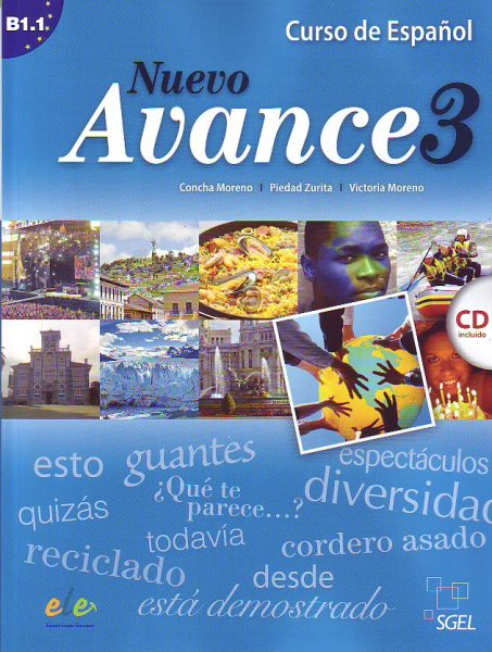 画像1: NUEVO AVANCE 3 (B1.1). LIBRO DEL ALUMNO + CD(生徒用テキスト) (1)