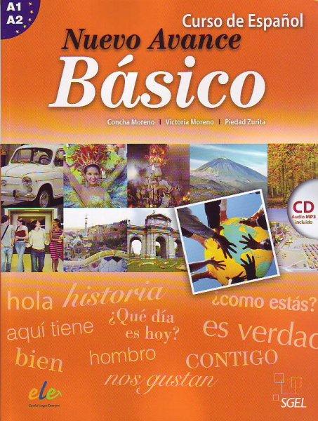 画像1: 【訳あり品※定価より5%オフ】NUEVO AVANCE BASICO (A1+A2). LIBRO DEL ALUMNO + CD mp3※ (1)