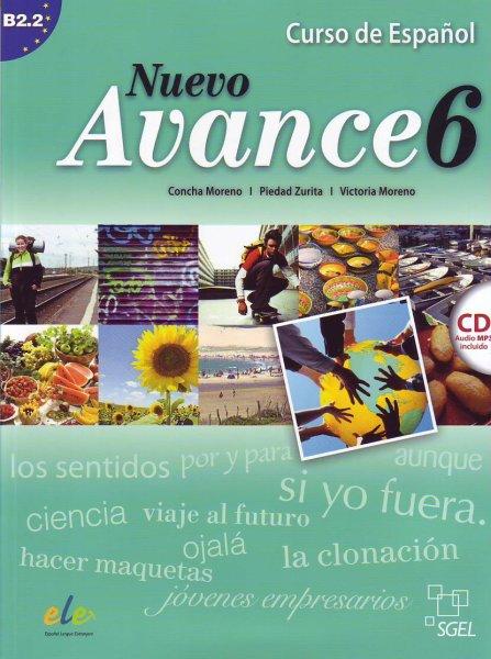 画像1: NUEVO AVANCE 6 (B2.2). LIBRO DEL ALUMNO + CD mp3※ (1)