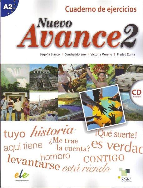 画像1: NUEVO AVANCE 2 (A2). CUADERNO DE EJERCICIOS + CD(ワークブック) (1)