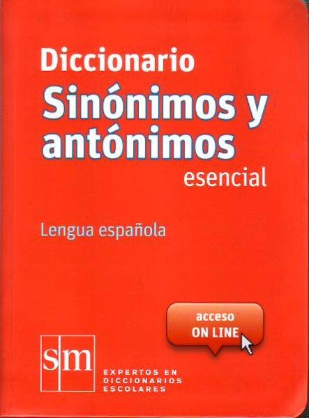 画像1: DIC. DE SINONIMOS Y ANTONIMOS DE LA LENGUA ESPANOLA (bolsillo-ポケットサイズ) (1)