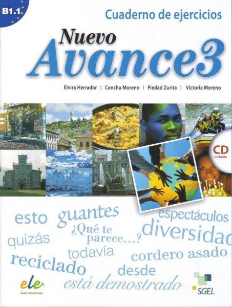 画像1: NUEVO AVANCE 3 (B1.1). CUADERNO DE EJERCICIOS + CD (1)