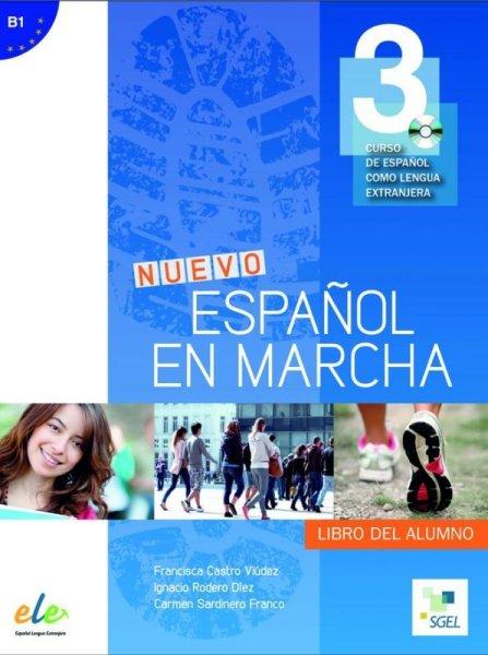 画像1: NUEVO ESPANOL EN MARCHA 3(B1). Libro del alumno + CD mp3※ (CD付教科書) (1)