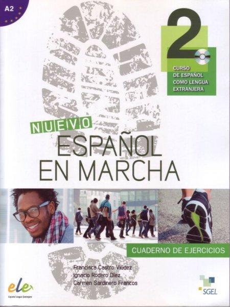 画像1: NUEVO ESPANOL EN MARCHA 2(A2). Cuaderno de ejercicios + CD (CD付ワークブック) (1)