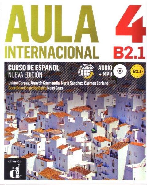 画像1: AULA INTERNACIONAL NUEVA EDICION 4 (B2.1). LIBRO DEL ALUMNO + CD mp3※ (1)