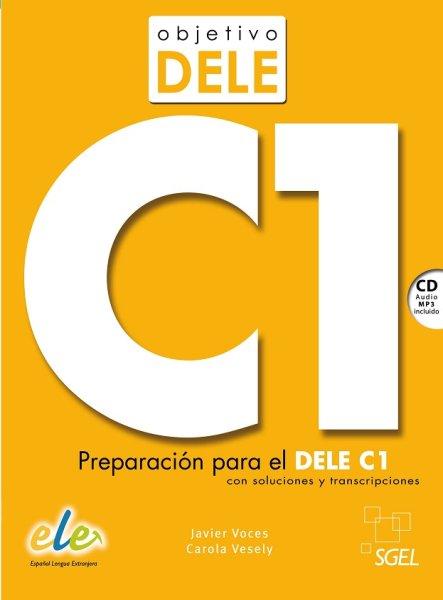 画像1: OBJETIVO DELE C1 + CD mp3※ (1)