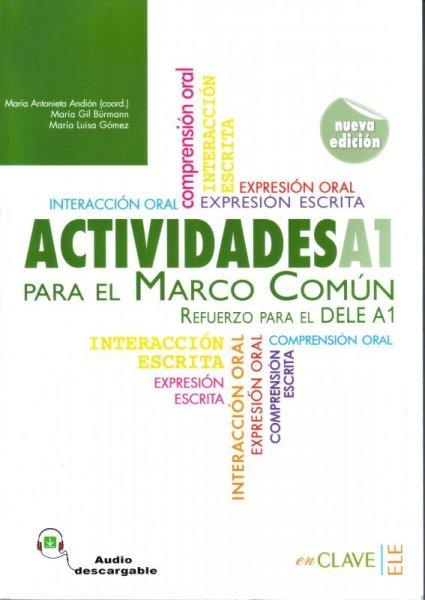 画像1: ACTIVIDADES PARA EL MARCO COMUN EUROPEO A1: Refuerzo para el DELE A1※音声ダウンロード (1)