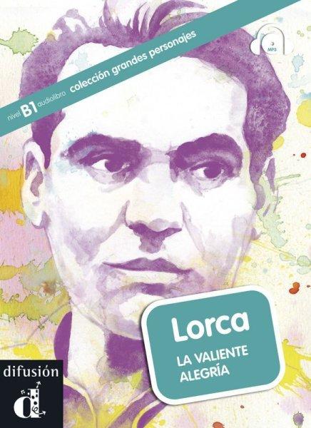 画像1: Grandes personajes B1. LORCA: LA VALIENTE ALEGRIA + CD mp3※ (1)