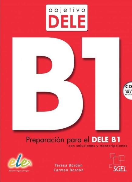 画像1: OBJETIVO DELE B1 + CD mp3※ (1)