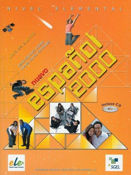 画像1: Nuevo ESPANOL 2000 ELEMENTAL. Libro del alumno+CD(CD付き生徒用教科書) (1)