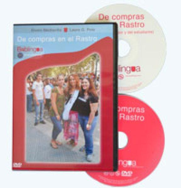 画像1: DE COMPRAS EN EL RASTRO DVD + CD-ROM (ラストロに行こう) (1)