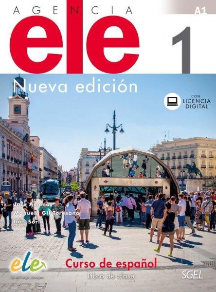 画像1: AGENCIA ELE Nueva edicion 1 (A1). LIBRO DE CLASE(生徒用テキスト) ※音声ダウンロード (1)