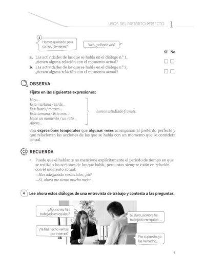 画像2: Practica tu espanol (B1): LOS TIEMPOS DEL PASADO Nueva.ed