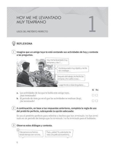 画像1: Practica tu espanol (B1): LOS TIEMPOS DEL PASADO Nueva.ed