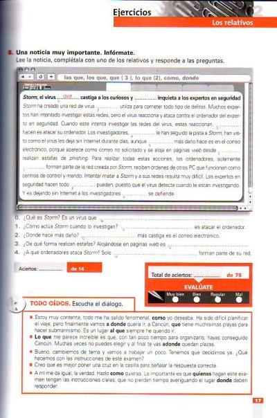 画像2: en USO B2. Libro/Clavesセット ※音声ダウンロード