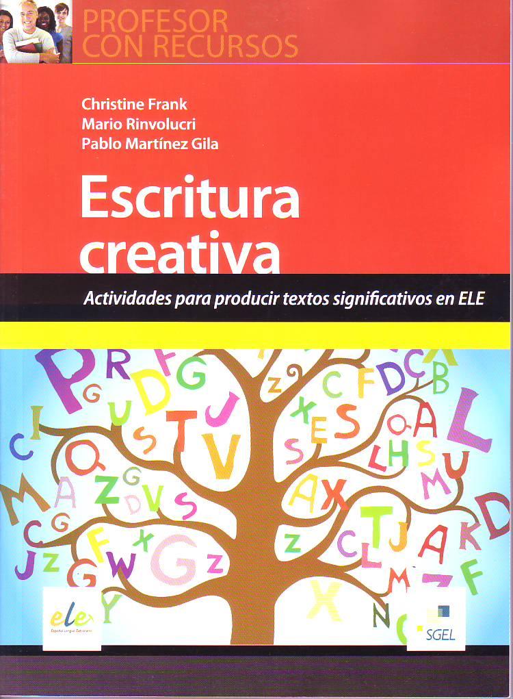 profesor con recursos escritura creativa actividades para producir